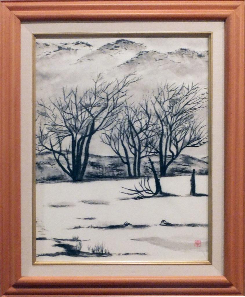 042 「新雪の平原」鈴木幸子