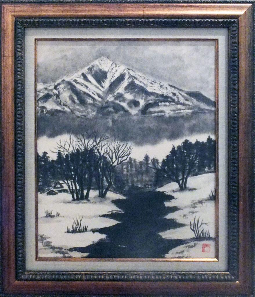 043 「冬の八ヶ岳」鈴木幸子