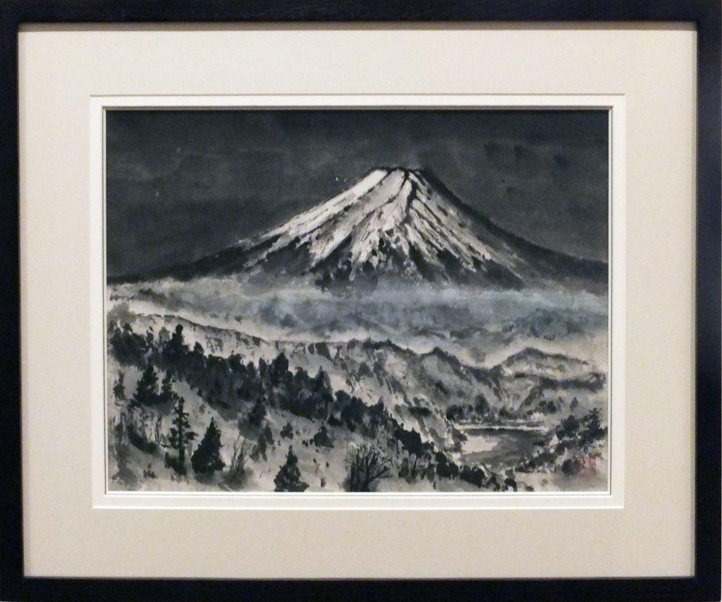 047 「大菩薩からの富士」関春治