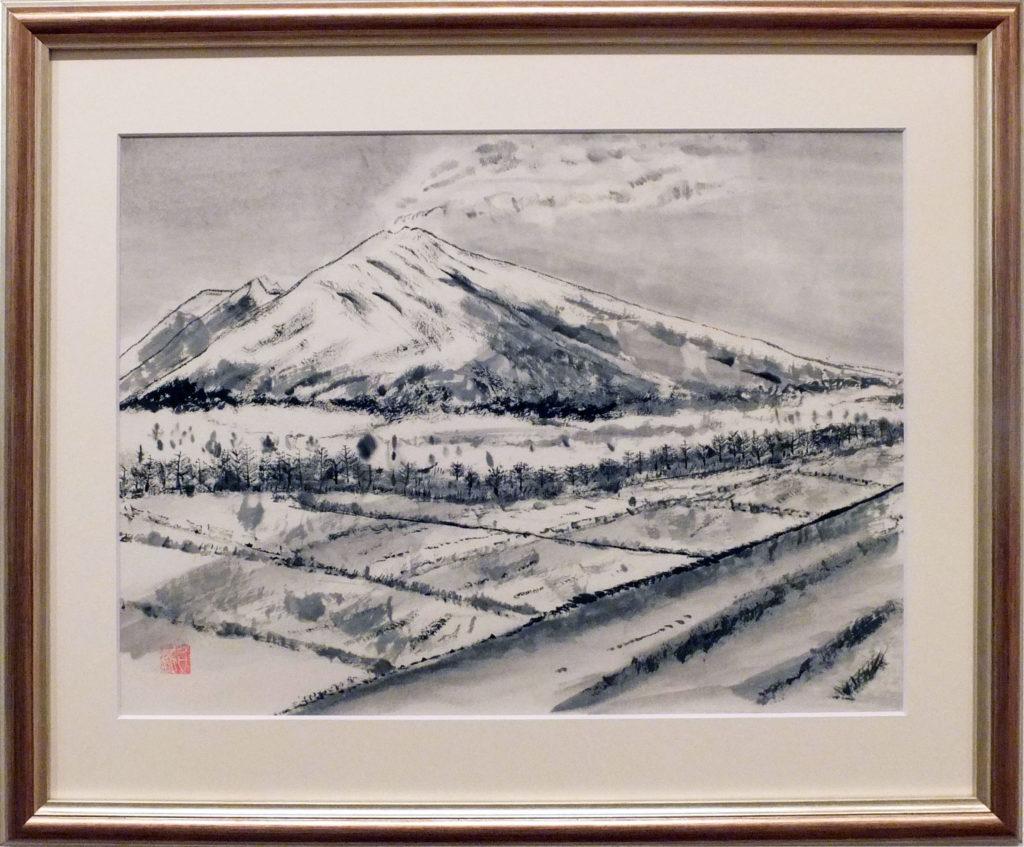 058 「浅間山」野田照代
