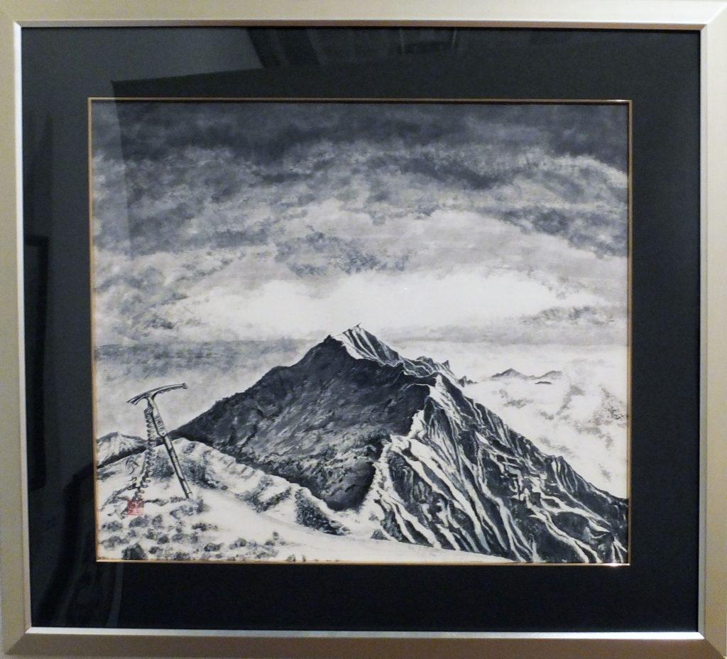067 「稜線の先・」福田修