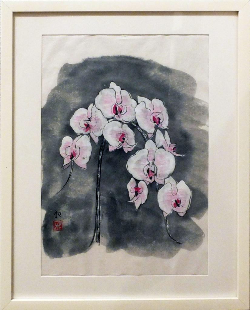 080 「胡蝶蘭」矢萩和子