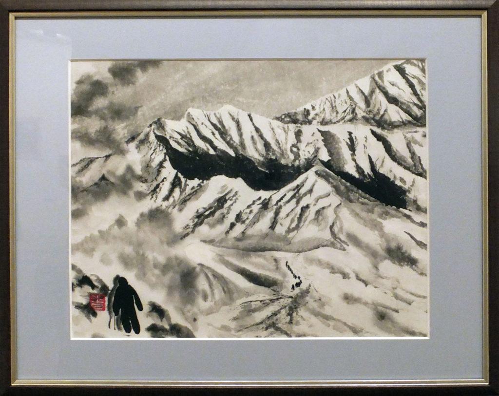 081 「雪山賛歌」山下正野