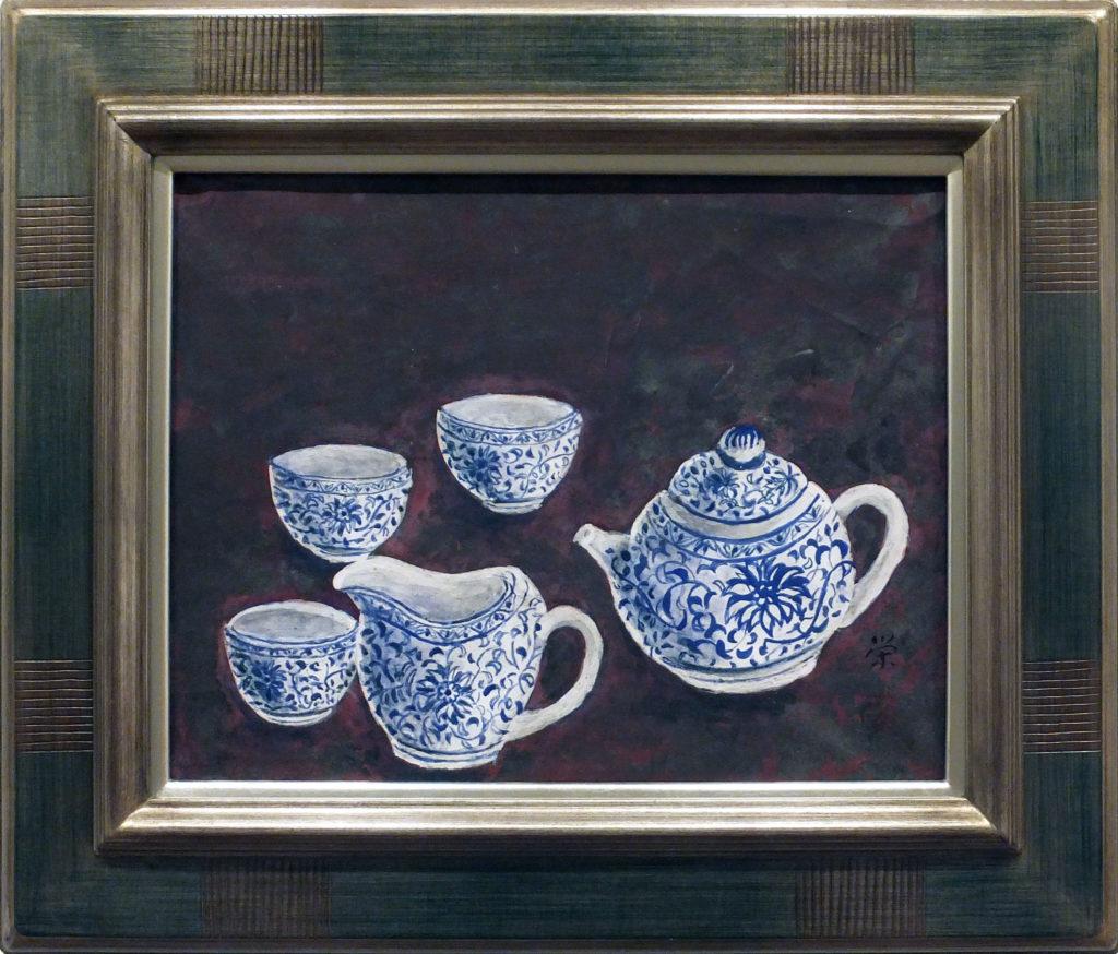 096 「景徳鎮の茶器」 伊藤 栄