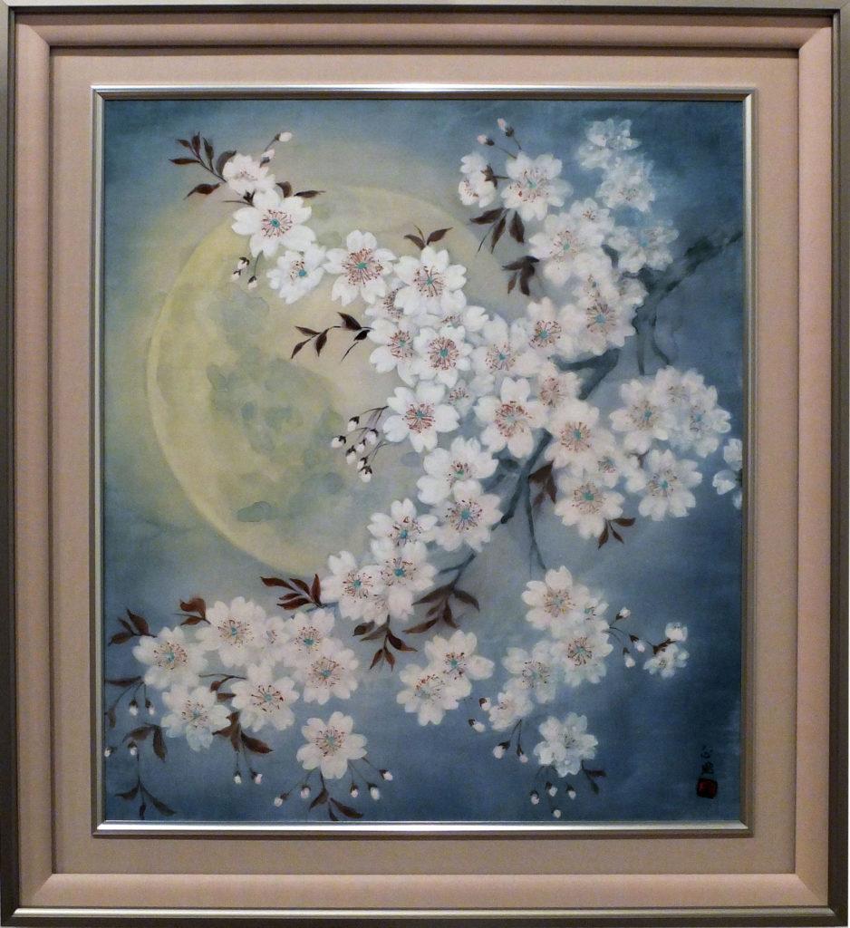 102 「しだれ桜」  岩崎春子