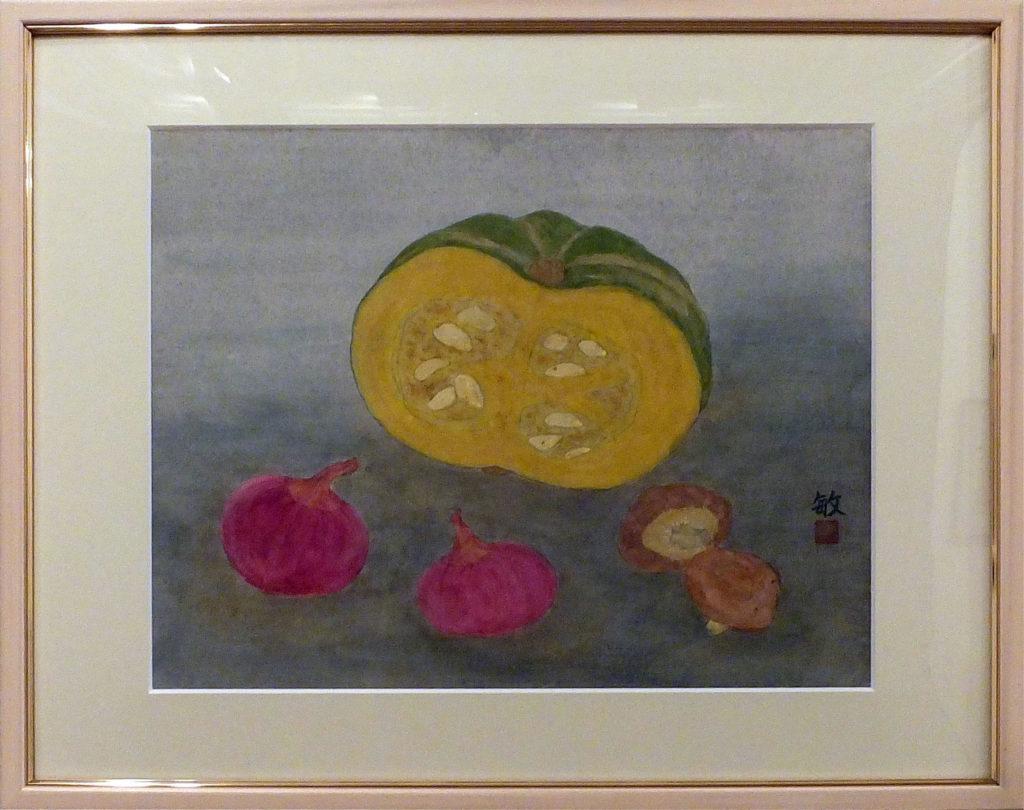 109 「野菜」 江藤敏子