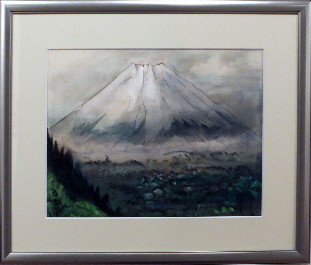 131 「乙女峠の富士」 今野良吉