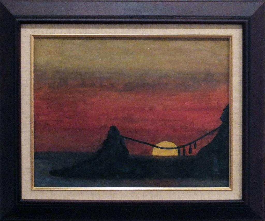 132 「日本海の夕日」 今野良吉