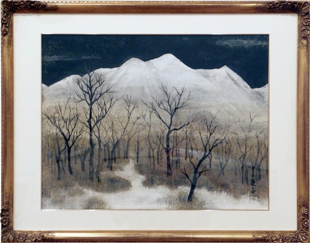 165 「残雪」 松本慶子