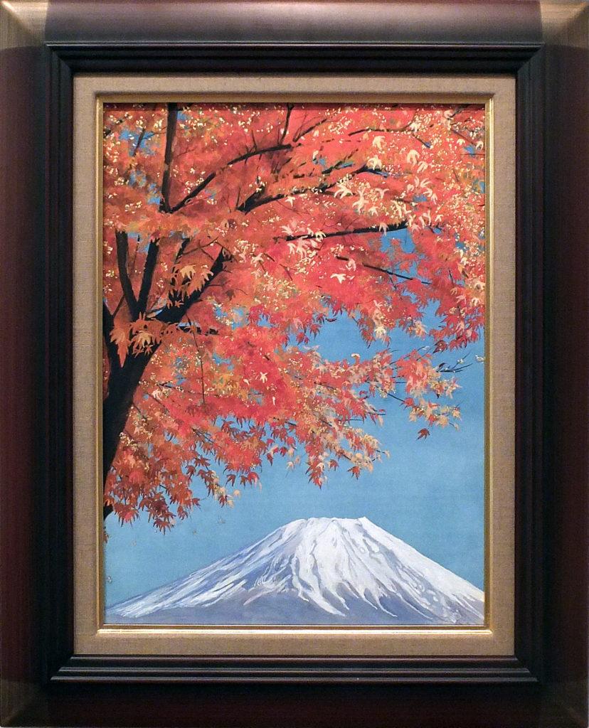 117 初冬の富士 古田雅