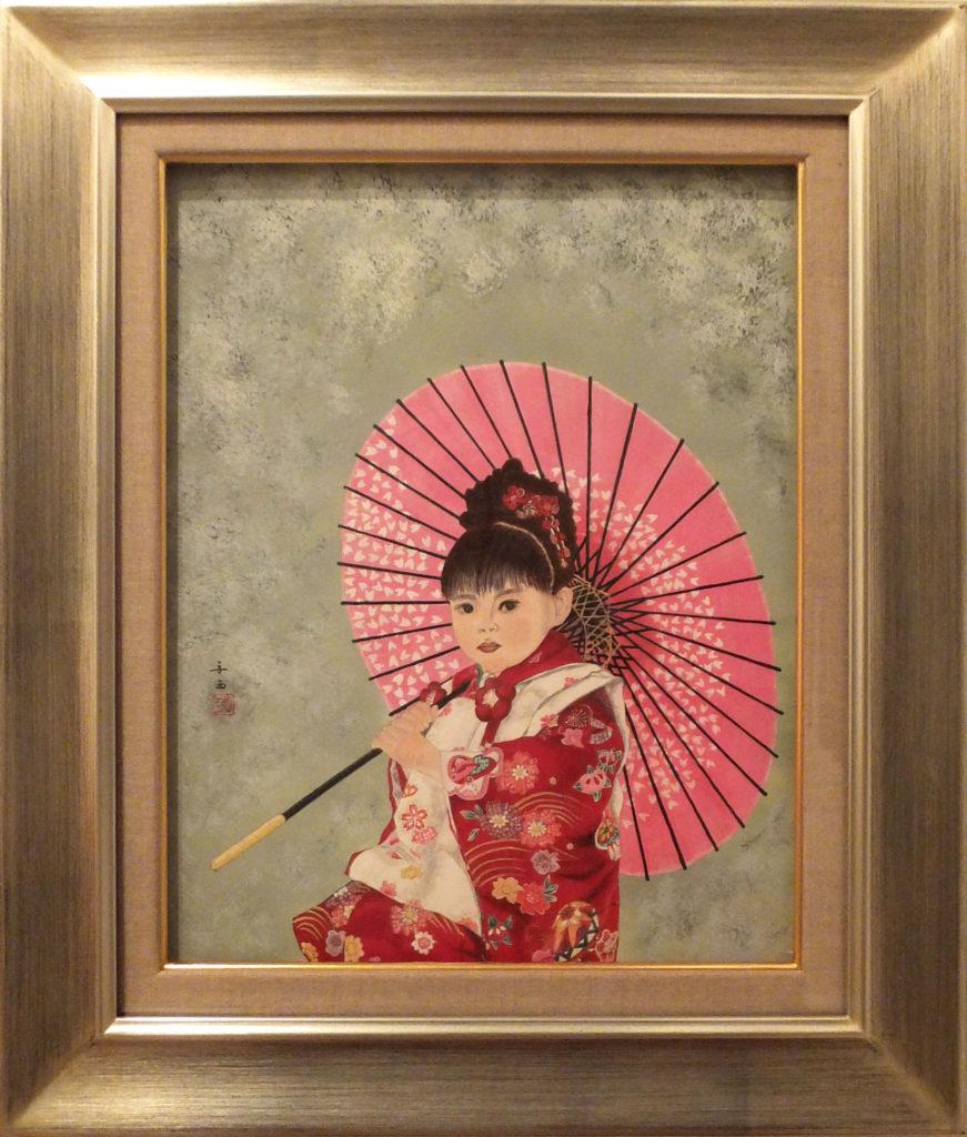 029 三歳の祝い 姉 安西弘