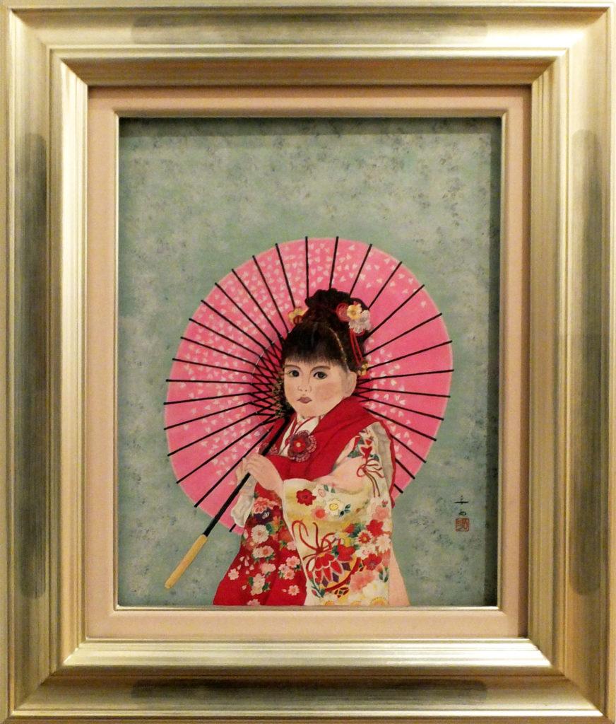 030 三歳の祝い 妹 安西弘