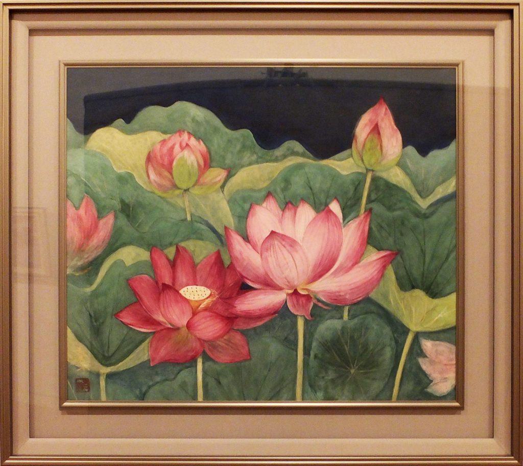 035 蓮の花  岩﨑春子
