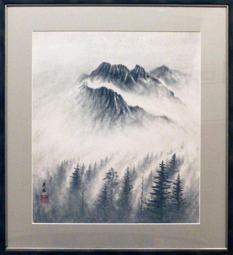 087 山靄 萩原英春
