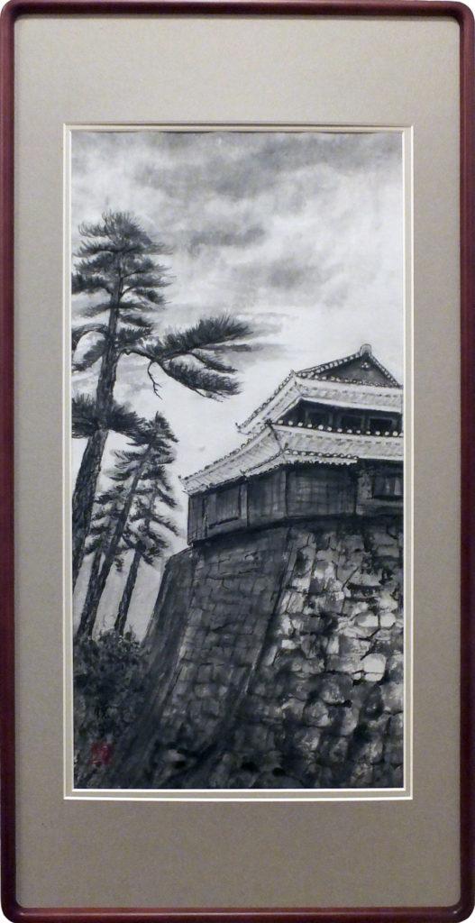 092 松山城櫓 前島悦子