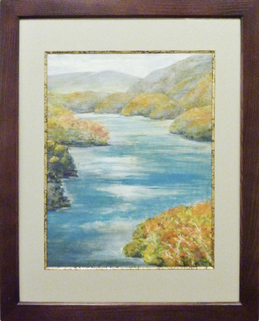 112 湖水の秋 成澤資子