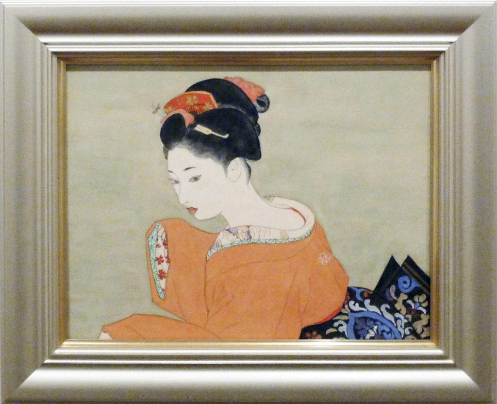 150 模写(襟あし) 大塚好子