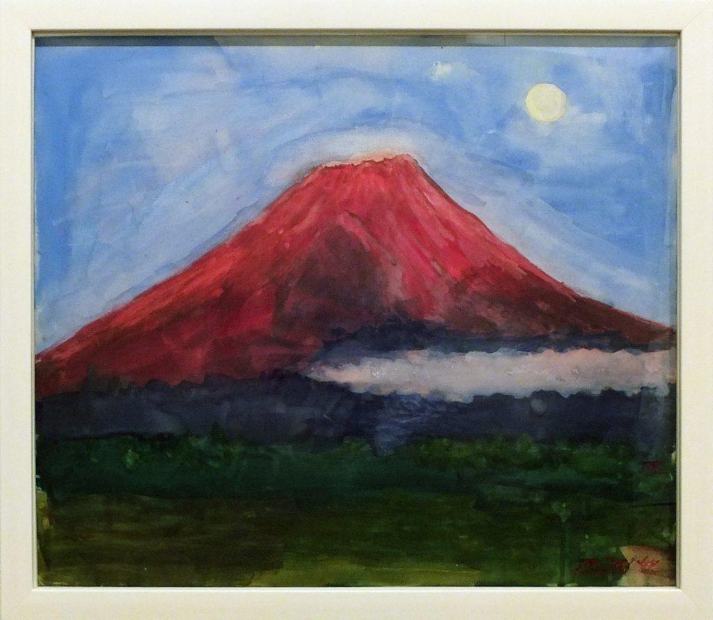 009 赤富士と満月(朝霧公園) 前田 都子