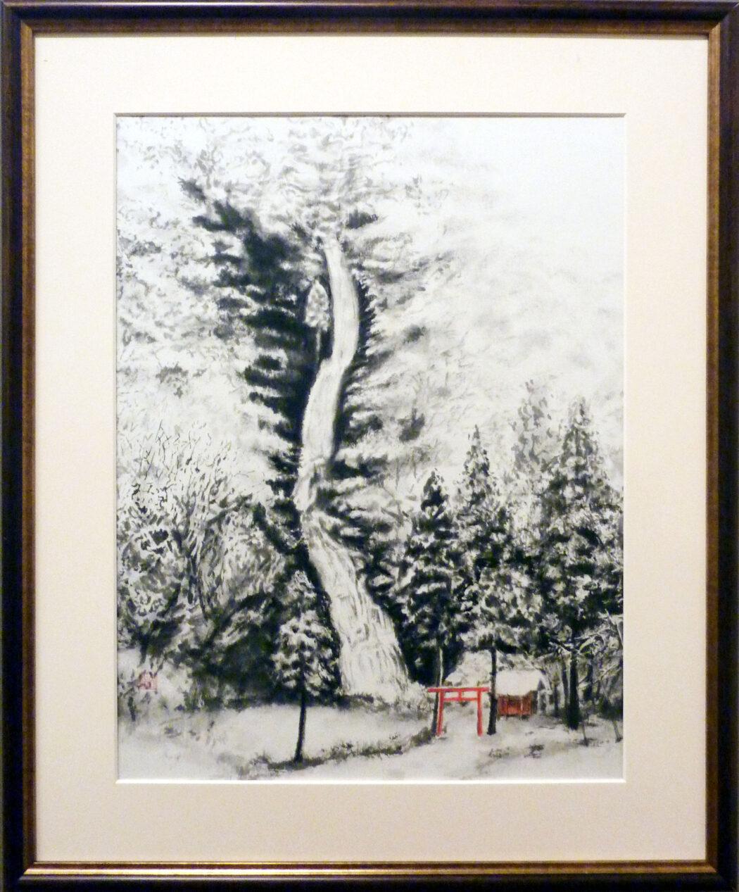 35 河原公治 白糸の滝